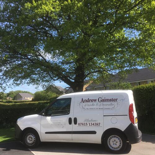Andrew Gaimster painter and decorator